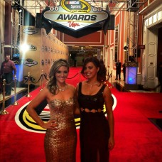 Red Carpet at the NASCAR Awards in Las Vegas