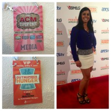 Red Carpet Host at the ACM's